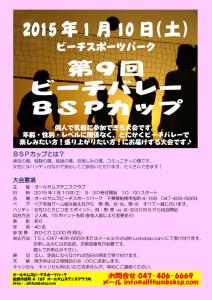 20150110第9回ビーチバレーBSPカップ
