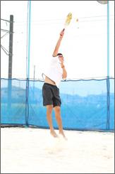 ビーチテニス2