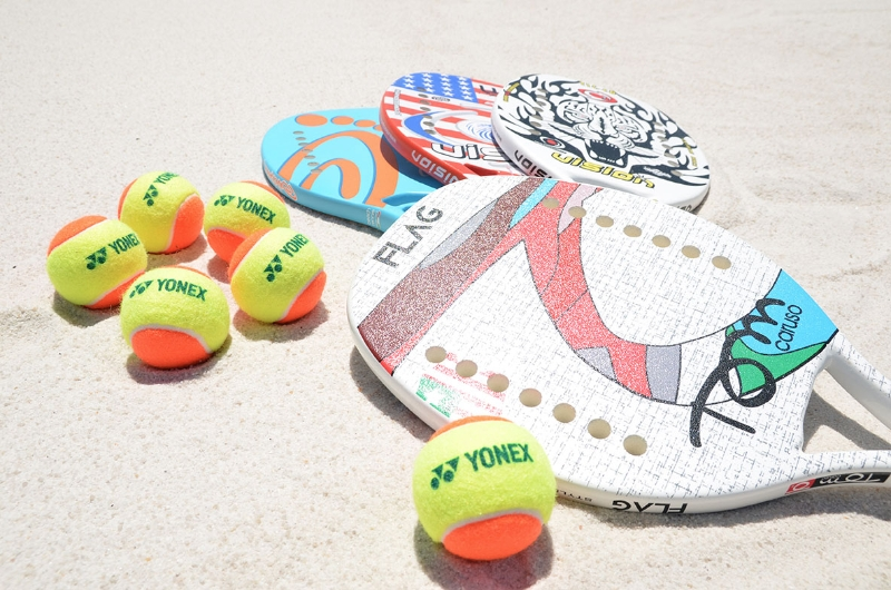 ビーチテニス体験会1