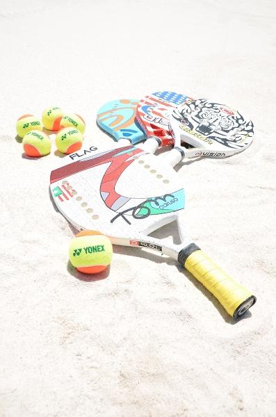ビーチテニス体験会2
