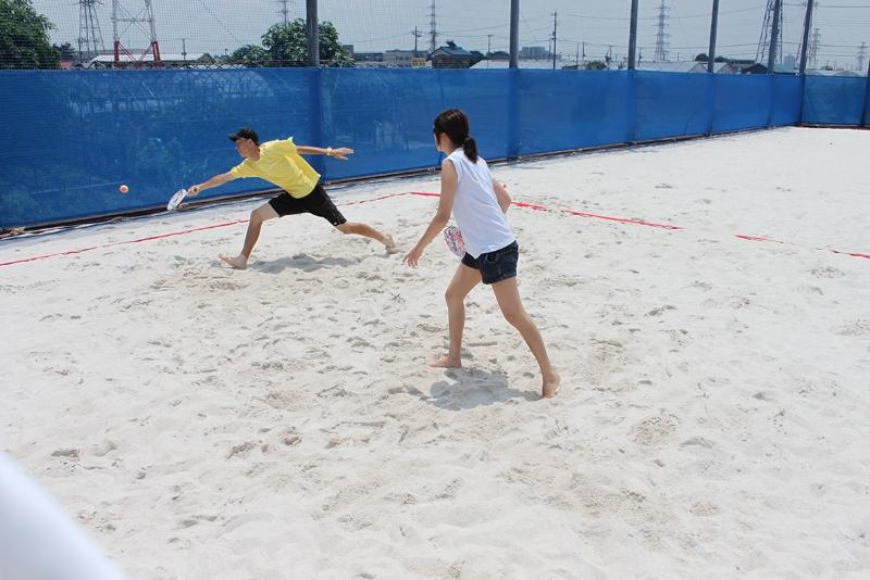 ビーチテニス体験会7